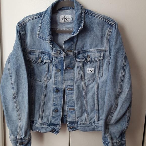 b4a98384c4b Calvin Klein Jeans Jackets   Blazers - 90  calvin klein denim ...